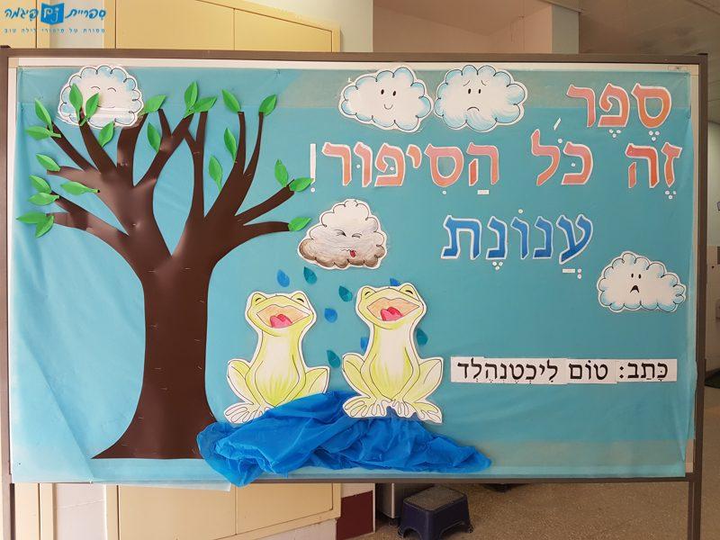 Presenting Cloudette in Yachad school in Ashdod