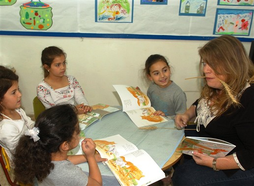 THE CHICKENS AND THE FOX activity in Gan Rakafot in Afula