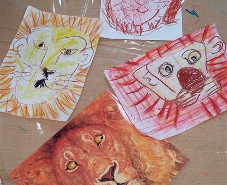 Activity following The Lion and The Mouse, in Gan Dror and Gan Hdar in Ashdod